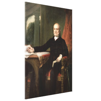Toile JOHN QUINCY ADAMS par George Peter Alexandre Healy
