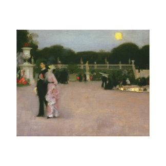 Toile John Singer Sargent - dans les jardins du