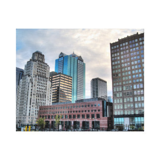 Toile Kansas City du centre
