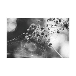 Toile La fleur en Web