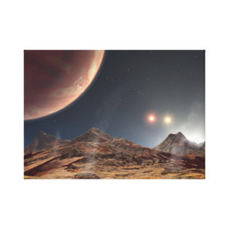 Toile La NASA des soleils HD188753 trois