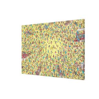 Toile Là où est la fièvre de l'or de Waldo |