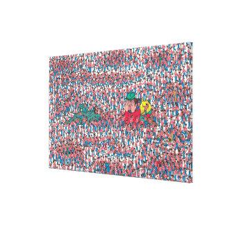 Toile Là où est la terre de Waldo | de Waldos