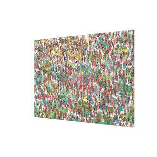 Toile Là où est Waldo | Muskeeters fanfaron