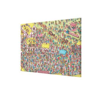 Toile Là où est Waldo | une fois sur samedi matin