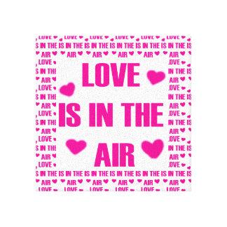 Toile L'amour est dans le ciel