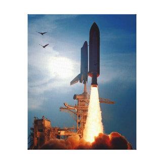 Toile Lancement STS-64 de découverte de navette spatiale