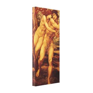 Toile L'arbre de la rémission par Burne Jones