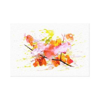 Toile L'automne, du feuillage, feuilles, de couleur.