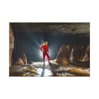 Toile Le Brésilien la plupart des belles cavernes