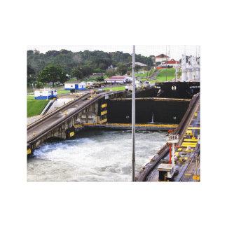 Toile Le canal de Panama, Photographie élevée de Def
