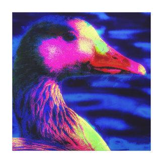 Toile Le canard que vous voyez