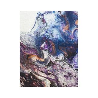 Toile Le canvaprint acrylique de peinture d'abrégé sur