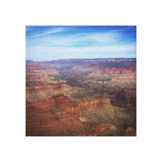 Toile Le canyon grand