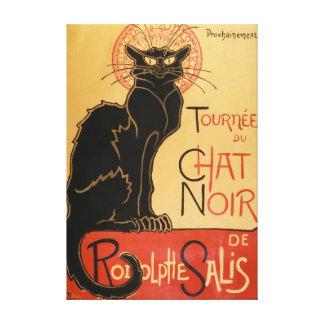 Toile Le Chat Noir (le chat noir)