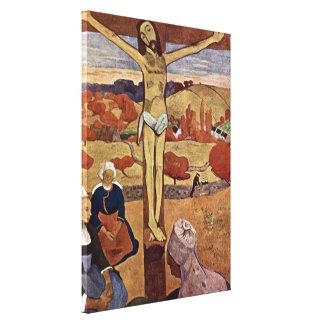 Toile Le Christ jaune par Paul Gauguin, beaux-arts
