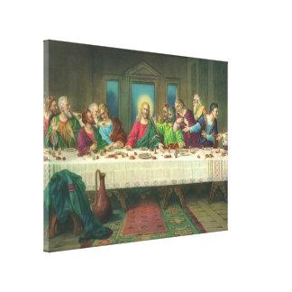 Toile Le dernier dîner par Leonardo da Vinci