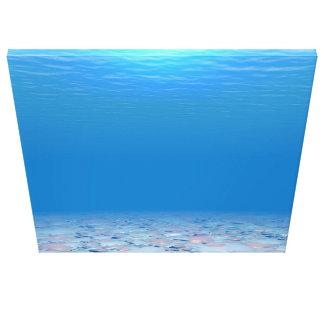 Toile Le fond de la mer