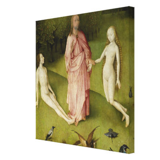Toile Le jardin des plaisirs terrestres, 15ème siècle