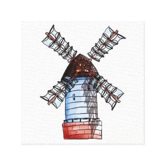Toile Le moulin à vent