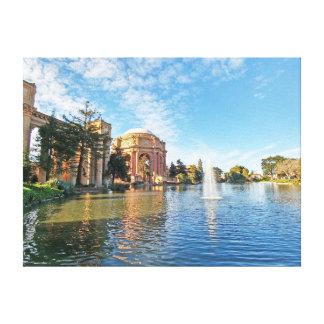 Toile Le palais des beaux-arts la Californie