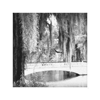Toile Le pont de la magnolia