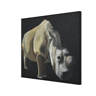 Toile Le rhinocéros
