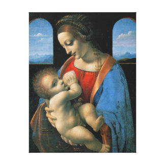 Toile Leonardo da Vinci Madonna Litta