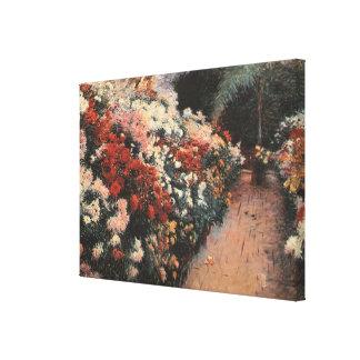 Toile Les chrysanthèmes de la soute de Dennis Miller