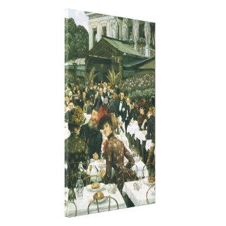 Toile Les dames de l'artiste par James Tissot, art