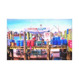 Toile Les fruits de mer les plus frais