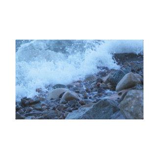 Toile les roches de baie