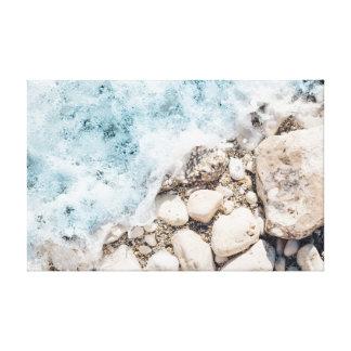 Toile Les vagues | lapide l'océan des roches | de |
