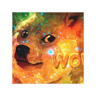 Toile l'espace - doge - shibe - wouah doge