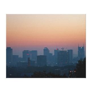 Toile Lever de soleil Nashville de matin