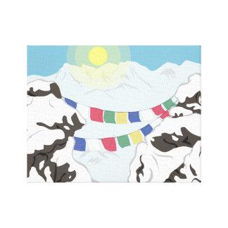 Toile L'Himalaya