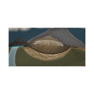Toile L'idée découverte du glacier