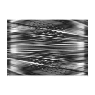 Toile Lignes abstraites dynamiques