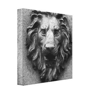 Toile Lion principal de lions d'Aslan de copie d'art de