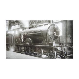 Toile Locomotive à vapeur (Madame d'Avenal)
