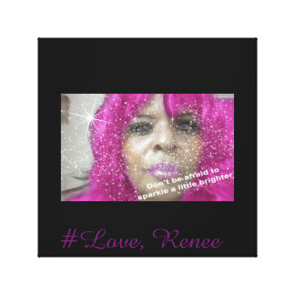 Toile #Love, affiche de Renee (art de mur)