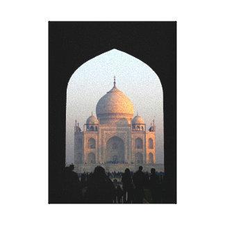 Toile Lumière du Taj Mahal de photo d'architecture de