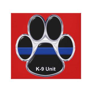 Toile L'unité K-9 amincissent Blue Line