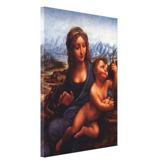 Toile madonna du yarnwinder, Leonardo da Vinci