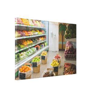 Toile Magasin de fruit