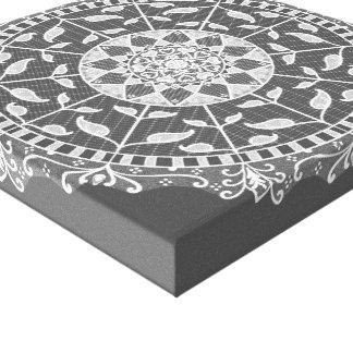 Toile Mandala de lamantin