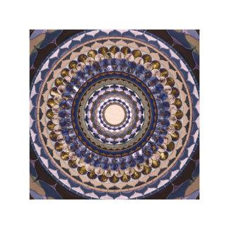 Toile Mandala en pierre de fleur