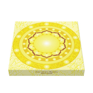 Toile Mandala solaire de Chakra