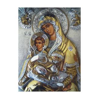Toile Mary et Jésus