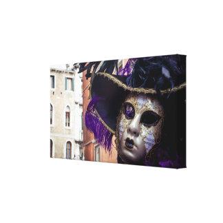 Toile Masque de carnaval à Venise